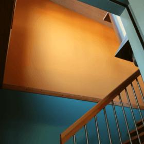 Treppenhaus-Farbberatung