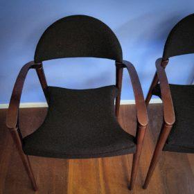 Polsterei Luzern, Stoff Creation Baumann, Design-Stühle neu bezogen und gepolstert