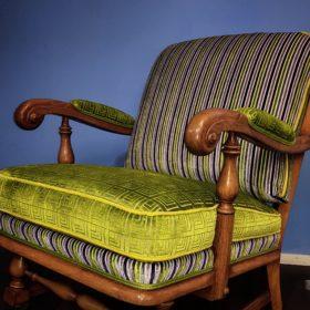 Polsterei Luzern, Stoff Designers Guild, Sessel neu bezogen und gepolstert