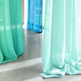 Leinen-Vorhang
